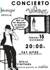 Cartel Casa Azul 15 Dic 2018