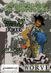 Cartel Córdoba 17-11-28