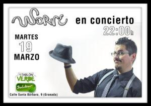 Cartel El Tablón 19-03-2019